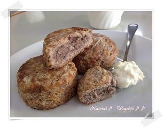 天然酵母パン教室講師セミナー-5 ブルーベリー酵母スコーン.jpg